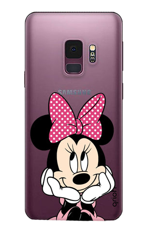 Minnie In Deep Thinking Samsung S9 Cases & Covers Online