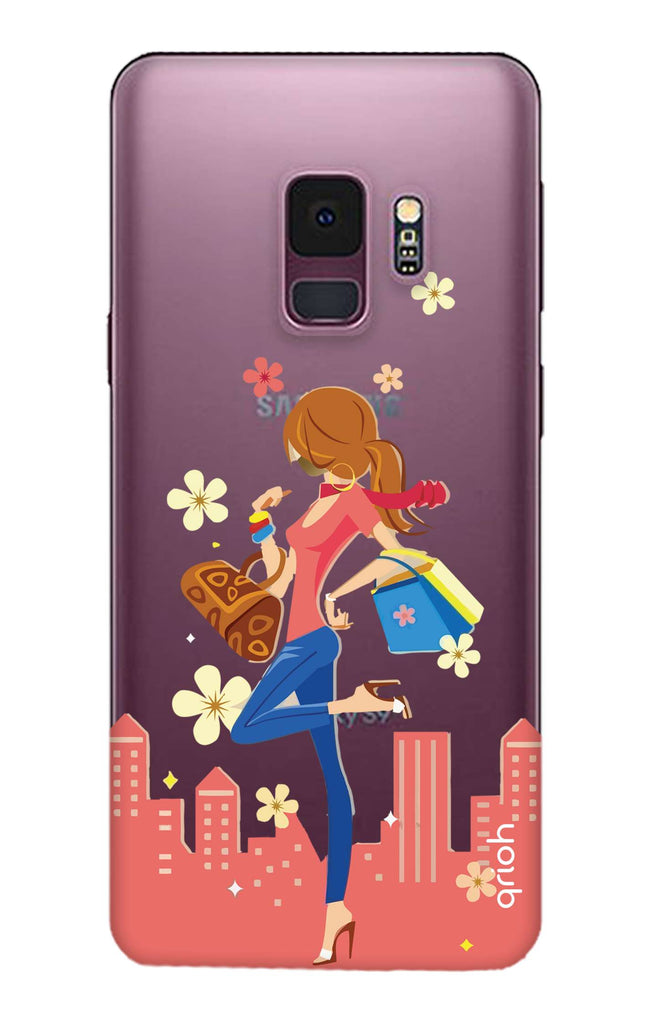 the best attitude 12fd2 1d2a4 Shopping Girl Case for Samsung S9