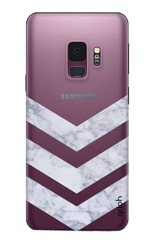 Marble Chevron Samsung S9 Cases & Covers Online