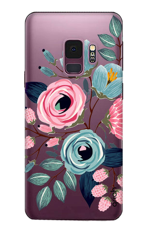 Pink And Blue Floral Samsung S9 Cases & Covers Online