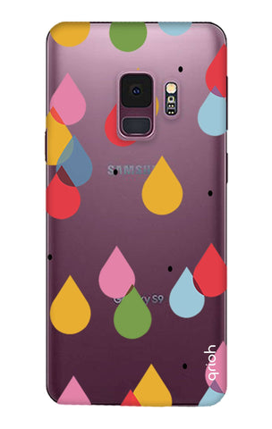 Colourful Drops Samsung S9 Cases & Covers Online