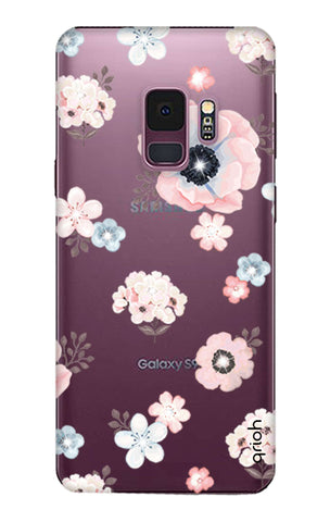 Beautiful White Floral Samsung S9 Cases & Covers Online