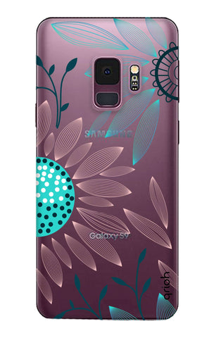 Pink And Blue Petals Samsung S9 Cases & Covers Online
