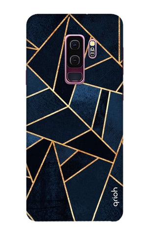Abstract Navy Samsung S9 Plus Cases & Covers Online