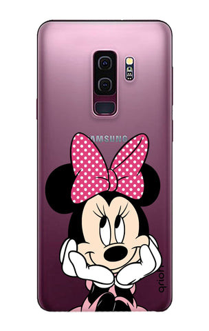 Minnie In Deep Thinking Samsung S9 Plus Cases & Covers Online