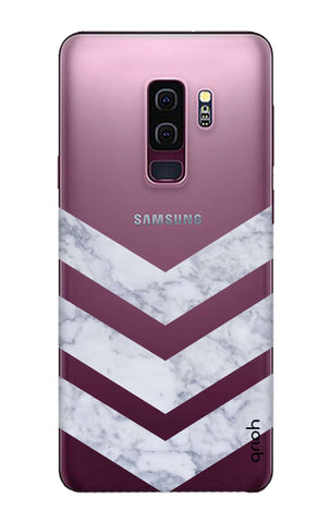 Marble Chevron Samsung S9 Plus Cases & Covers Online