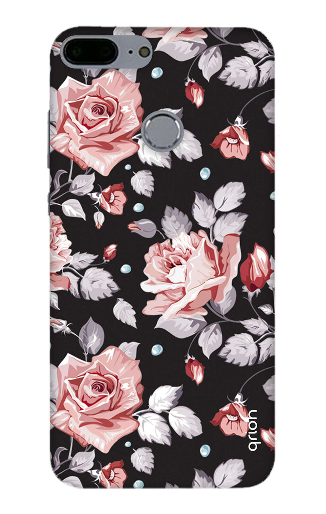 competitive price 8adb1 08ee6 Shabby Chic Floral Case for Honor 9 Lite