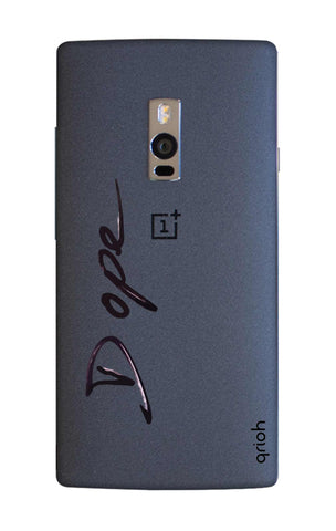 Dope Paint Black OnePlus 2 Cases & Covers Online