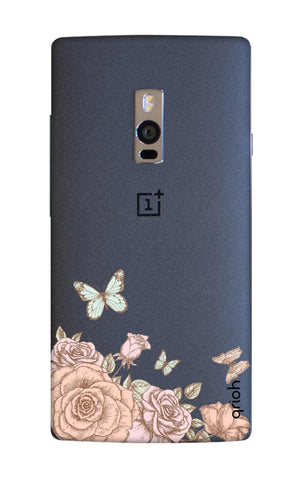 Flower And Butterfly OnePlus 2 Cases & Covers Online