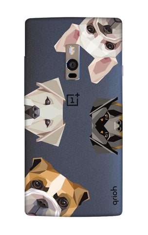 Geometric Dogs OnePlus 2 Cases & Covers Online