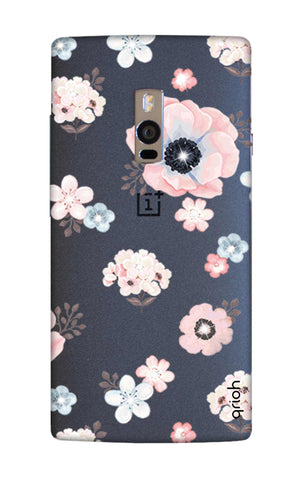Beautiful White Floral OnePlus 2 Cases & Covers Online