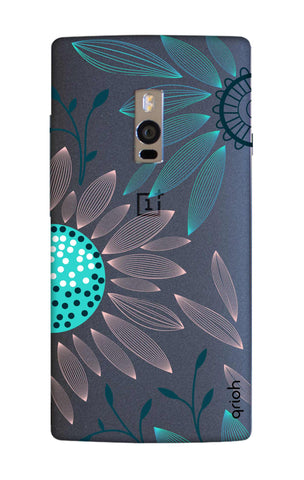 Pink And Blue Petals OnePlus 2 Cases & Covers Online