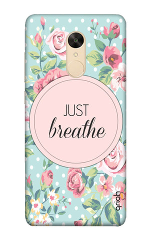 Vintage Just Breathe Redmi Note 5 Cases & Covers Online