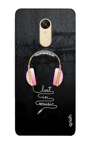 Lost In Music Redmi Note 5 Cases & Covers Online