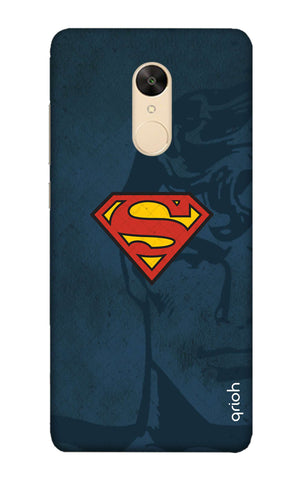 Wild Blue Superman Redmi Note 5 Cases & Covers Online