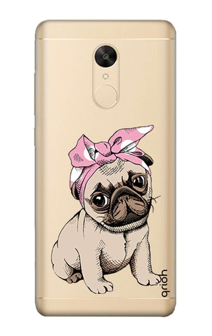 Pink Puggy Redmi Note 5 Cases & Covers Online