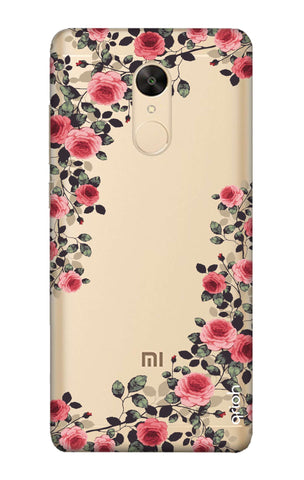 san francisco 95f12 0a7b7 Floral French Case for Redmi Note 5