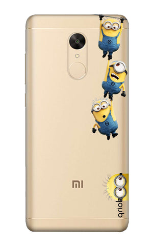 Falling Minions Redmi Note 5 Cases & Covers Online