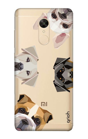 Geometric Dogs Redmi Note 5 Cases & Covers Online