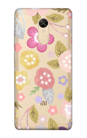 Multi Coloured Bling Floral Redmi Note 5 Cases & Covers Online