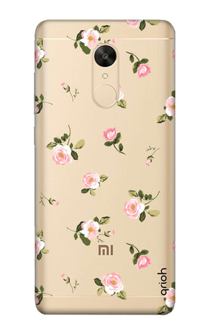 Pink Rose All Over Redmi Note 5 Cases & Covers Online