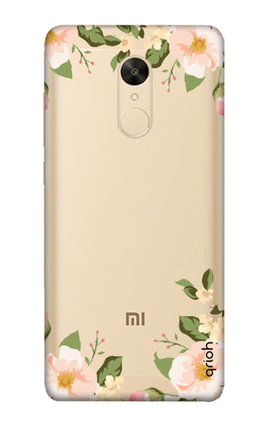 Flower In Corner Redmi Note 5 Cases & Covers Online