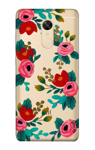 Red Floral Redmi Note 5 Cases & Covers Online