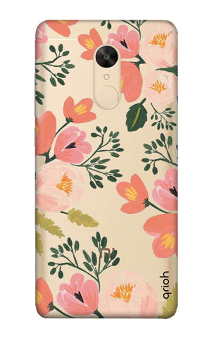 Painted Flora Redmi Note 5 Cases & Covers Online