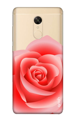 Peach Rose Redmi Note 5 Cases & Covers Online