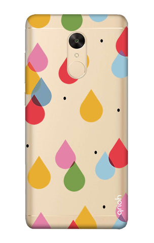 Colourful Drops Redmi Note 5 Cases & Covers Online