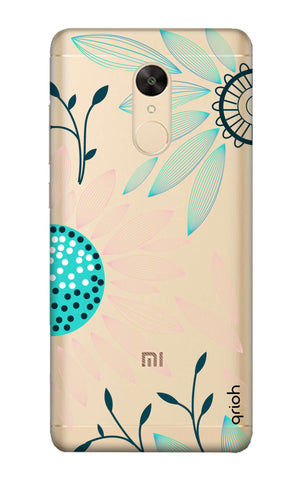 Pink And Blue Petals Redmi Note 5 Cases & Covers Online
