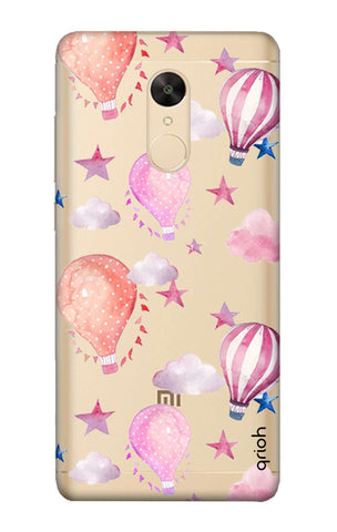 Flying Balloons Redmi Note 5 Cases & Covers Online