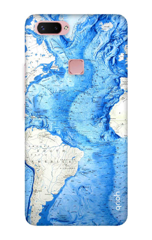World Map Vivo X20 Plus Cases & Covers Online