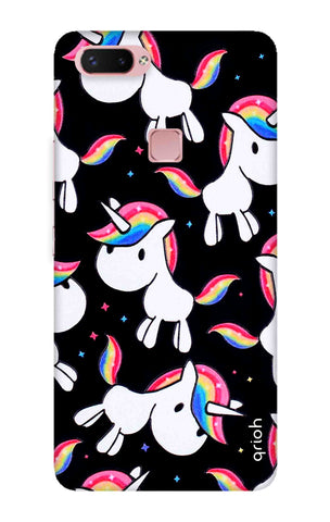 Colourful Unicorn Vivo X20 Plus Cases & Covers Online