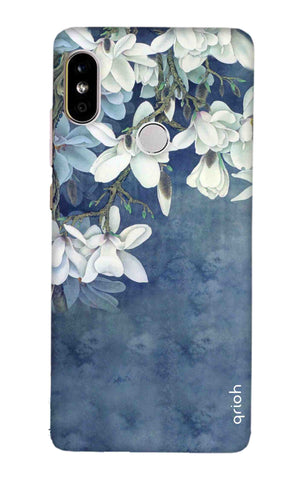 White Flower Redmi Note 5 Pro Cases & Covers Online