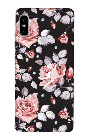 Shabby Chic Floral Redmi Note 5 Pro Cases & Covers Online