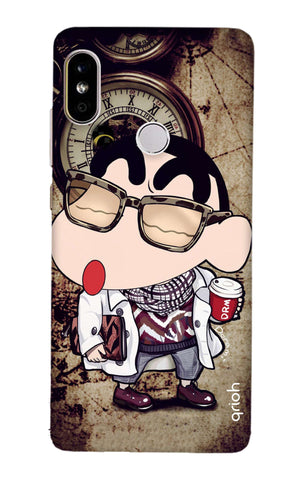 Nerdy Shinchan Redmi Note 5 Pro Cases & Covers Online