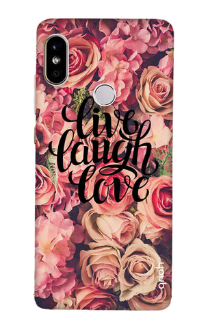 Floral Live, Laugh, Love Redmi Note 5 Pro Cases & Covers Online