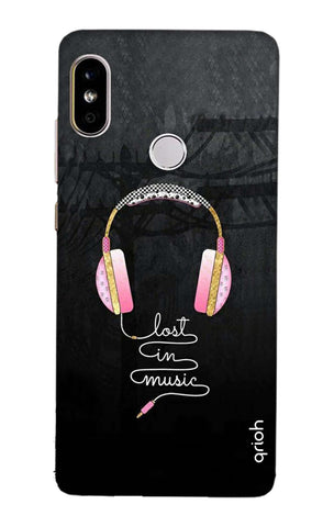 Lost In Music Redmi Note 5 Pro Cases & Covers Online