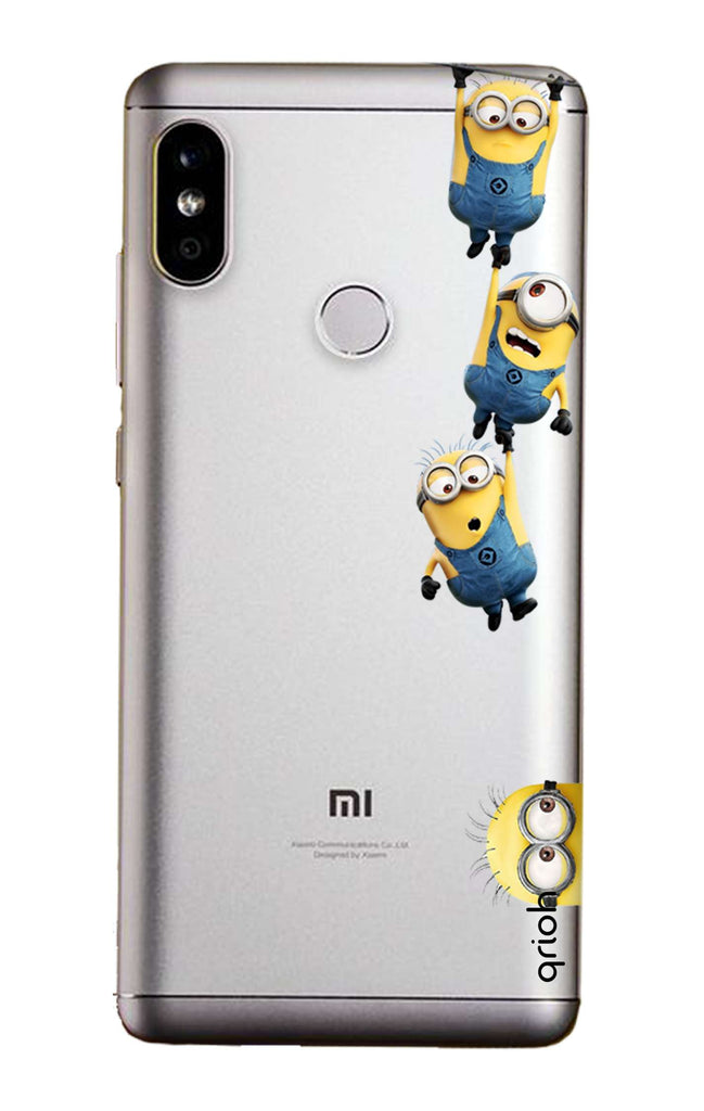 quality design 8ceea 75743 Falling Minions Case for Redmi Note 5 Pro