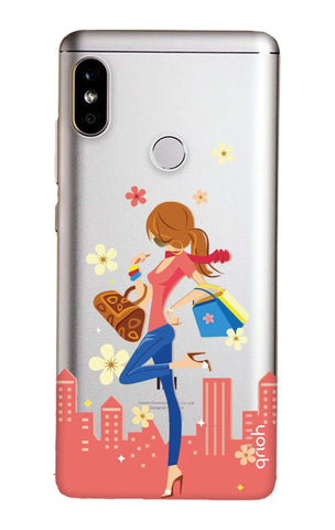 491e12986 Shopping Girl Redmi Note 5 Pro Back Cover - Flat 35% Off On Redmi ...