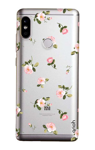 low priced f5e8b 96a86 Pink Rose All Over Case for Redmi Note 5 Pro