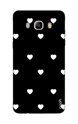 White Heart Samsung ON8 Cases & Covers Online
