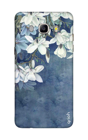 White Flower Samsung ON8 Cases & Covers Online