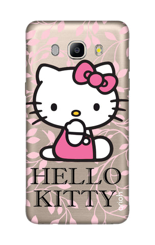 Hello Kitty Floral Samsung ON8 Cases & Covers Online