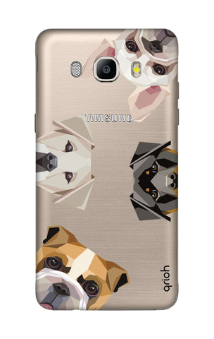 Geometric Dogs Samsung ON8 Cases & Covers Online