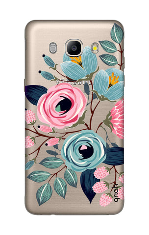 Pink And Blue Floral Samsung ON8 Cases & Covers Online