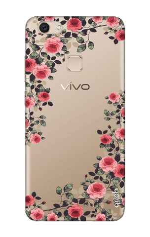 Floral French Vivo V7 Cases & Covers Online