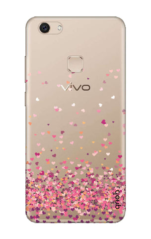 Cluster Of Hearts Vivo V7 Cases & Covers Online