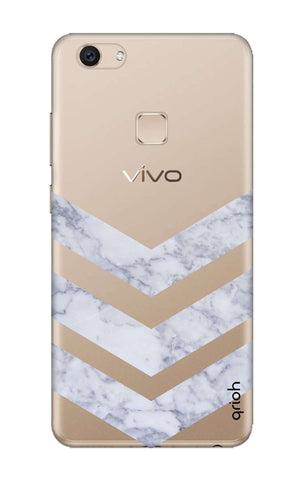 Marble Chevron Vivo V7 Cases & Covers Online